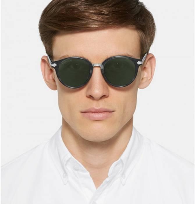 008e35bd72 Gucci Men s Titanium Round Frame Sunglasses Size one size ...