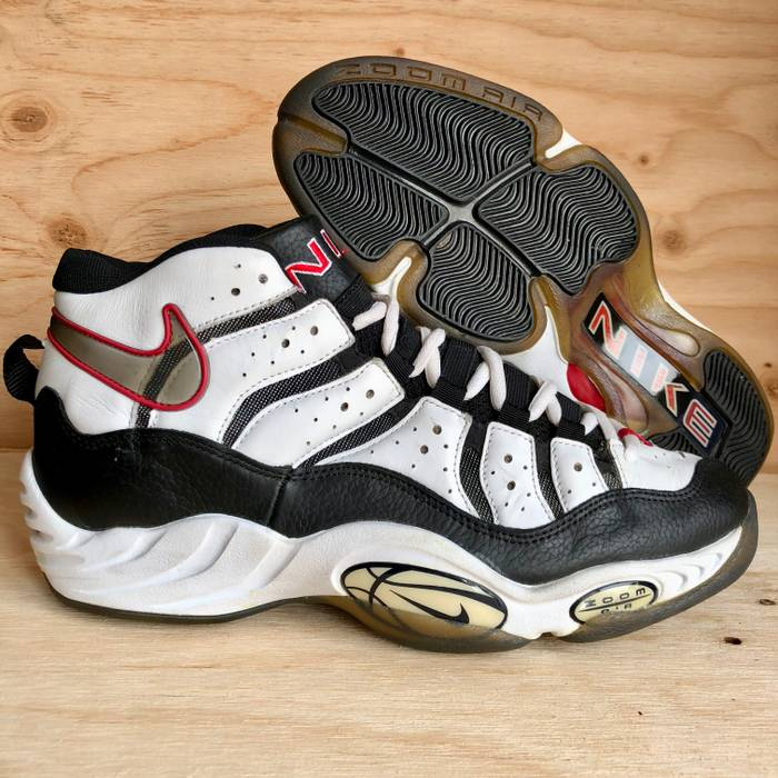 4393cdee10a Nike 90s Nike Air Zoom Basketball Shoes Dennis Rodman Ndestrukt Style VTG  Size US 15