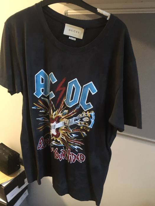 8f491bd52 Gucci AC/DC Tee Size s - Short Sleeve T-Shirts for Sale - Grailed