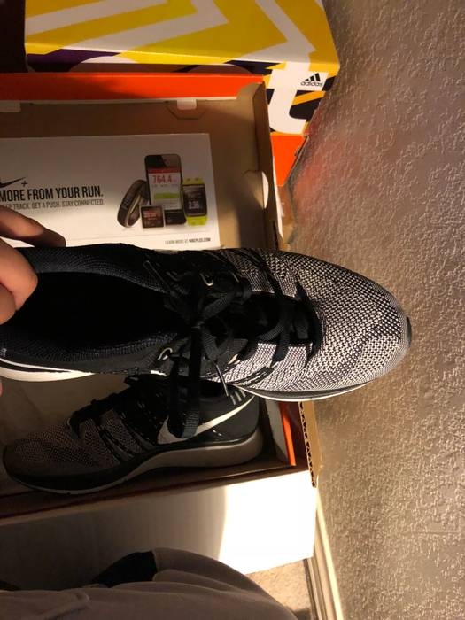 b521b2f39217 Nike Nike Flyknit Trainer 8.5 Black Size 8.5 - Casual Leather Shoes ...