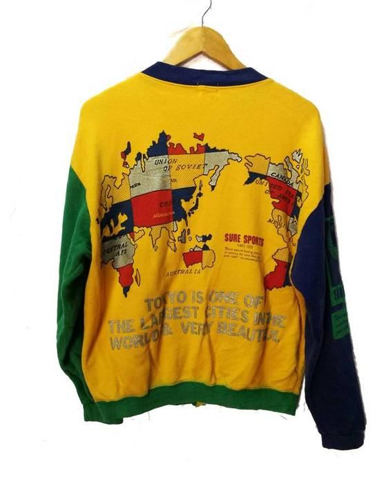 World Map Sweater.Kurt Cobain Vintage World Map Kurt Cobain Grunge Size M Sweaters