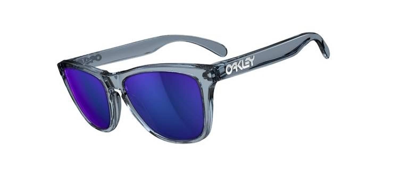986e23db96d Oakley Oakley Frogskin - Clear Grey Blue Iridium Size one size ...