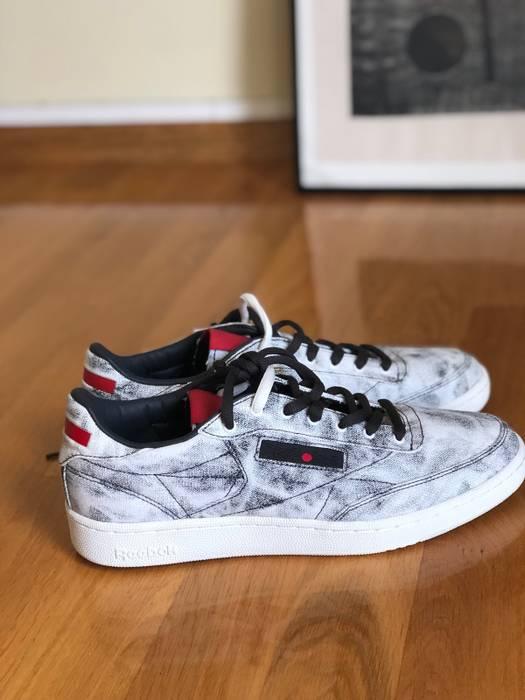 fba3771a3ce Reebok Kendrick Lamar X Reebok Club C signature bleached denim sneakers  Size US 9   EU