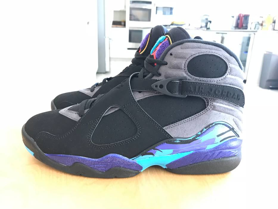 e9fc59a1f230eb Jordan Brand Nike Jordan 8 Aqua Size 9.5 - Low-Top Sneakers for Sale ...