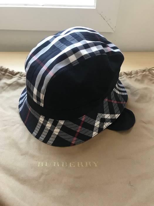 Gosha Rubchinskiy Gosha x Burberry Bucket Hat (Navy) Size one size ... 9e7ac8362e7