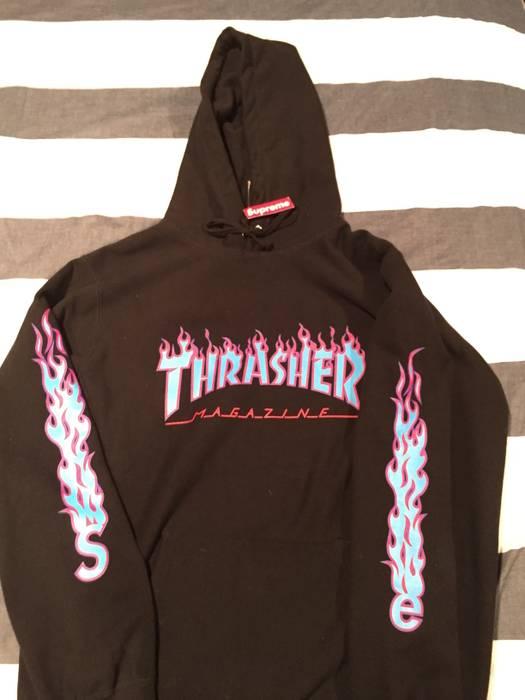 Supreme Supreme X Thrasher hoodie Size l - Sweatshirts   Hoodies for ... ccda798206