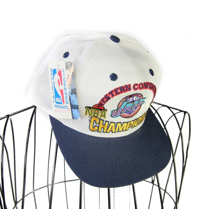 Vintage DS 1998 Utah Jazz Champion Spellout Hat Size one size - Hats ... 8d4a6a87f51b