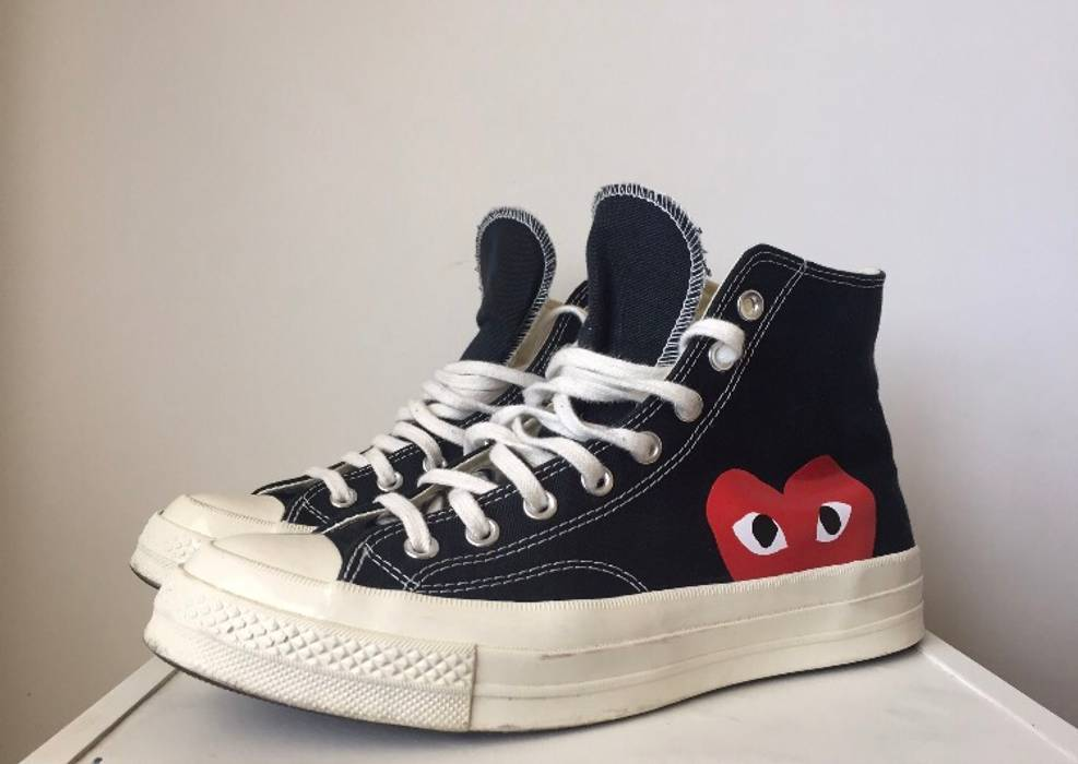 dd2dad6e3e1 Converse Hi Top CDG x Converse Size 7 - Hi-Top Sneakers for Sale ...