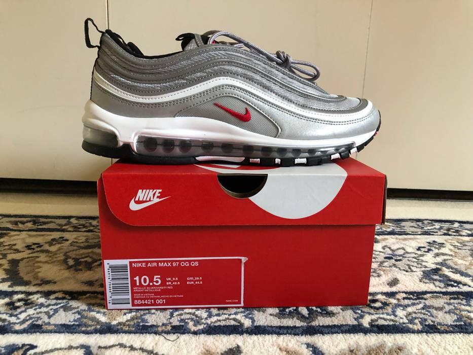 top fashion b15d5 ccbb8 Nike Air Max 97 Silver Bullet Quick Strike Size US 10.5  EU 43-44
