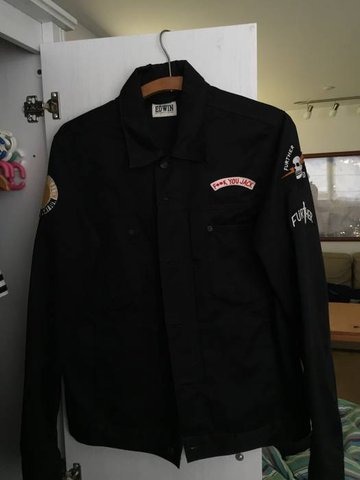 "Edwin Edwin ""Fuck You Jack"" Light Jacket Size US M / EU 48-"
