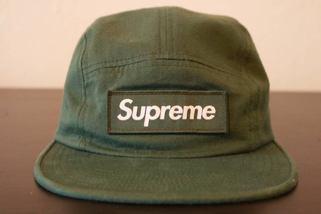 Supreme Supreme Olive Green Box Logo 5 Panel Hat Size one size ... c5986409c89