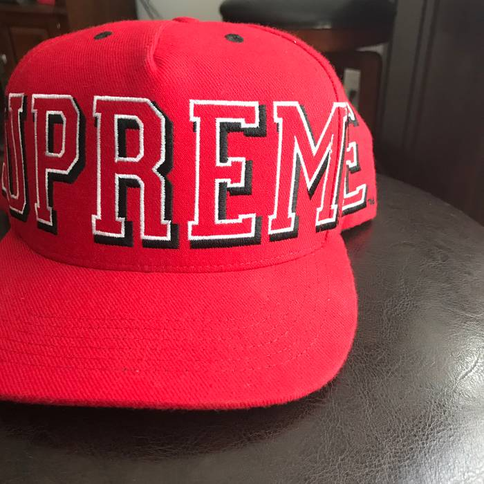 Supreme Big Banner SnapBack Size one size - Hats for Sale - Grailed a6912c47c4e