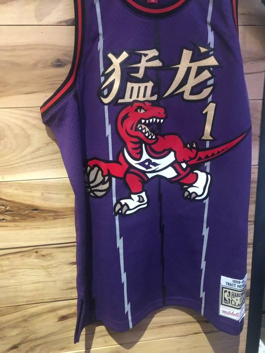 920a2c26e3c8 Mitchell   Ness. Raptors 2019 Chinese New Year JERSEY TRACY MCGRADY ...