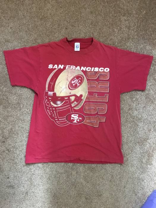 be6078e87 Vintage VINTAGE 49ers TEE MADE IN USA Size l - Short Sleeve T-Shirts ...
