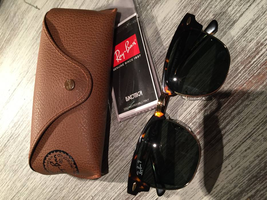 1b5ad0efb8c RayBan Ray-Ban Clubmaster Polarized Brown - RB3016 Size one size ...