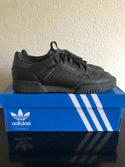 2ab66136f Adidas Kanye West Yeezy Powerphase Calabasas Core Black Size 9 - Low ...