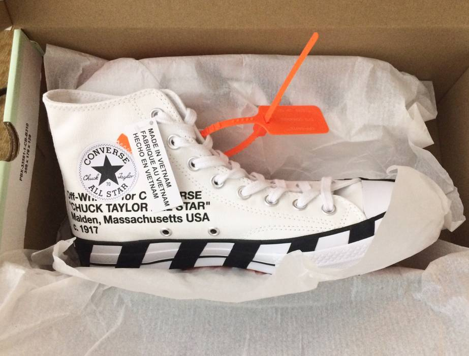 d38106f3a57064 Off-White Converse Chuck Taylor All Star 70