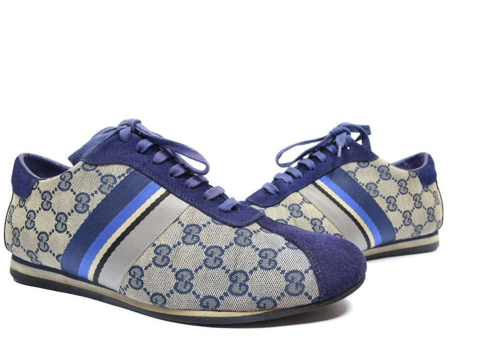 1fc39dc26aa41 Gucci RARE vintage monogram sneakers Size 10 - Low-Top Sneakers for ...