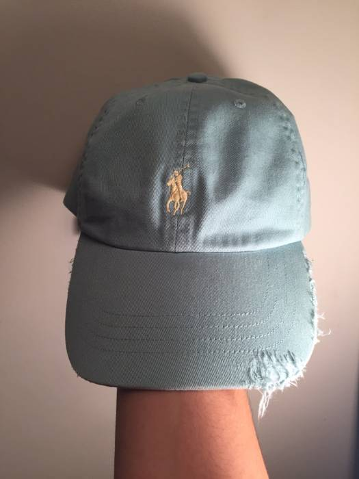 Polo Ralph Lauren Distressed Polo Cap Size one size - Hats for Sale ... 19998257dbe