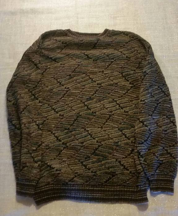 Protege Mens Protege Collection Bill Cosby Knit Sweater Multi