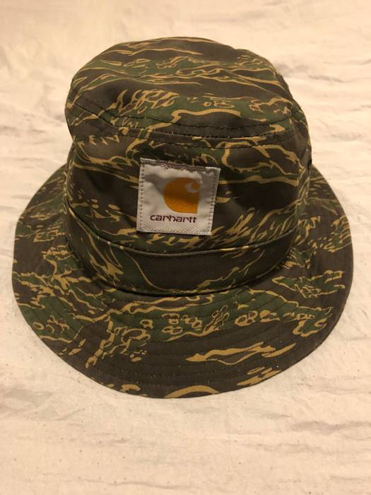 Carhartt Wip Bucket Hat - Tiger Camo Size one size - Hats for Sale ... b550c6c26a6