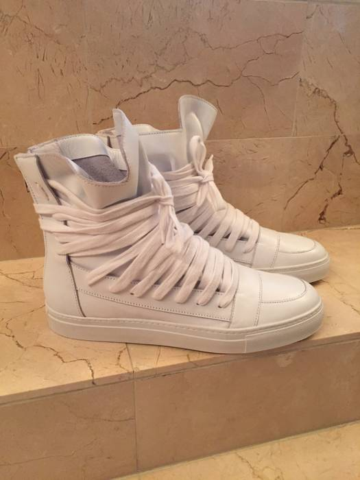 Kris Van Assche Kris Van Assche Multi Lace Sneakers size 44 Size 11 ... 114273e3b