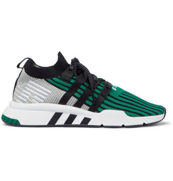 factory price c19e7 582b1 Adidas. NEW Adidas Originals EQT Support Mid ADV PK Primeknit Green CQ2998  ...