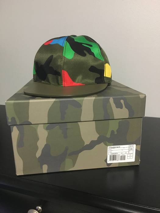 d10b9123a97 Valentino Valentino Camo Hat Size one size - Hats for Sale - Grailed