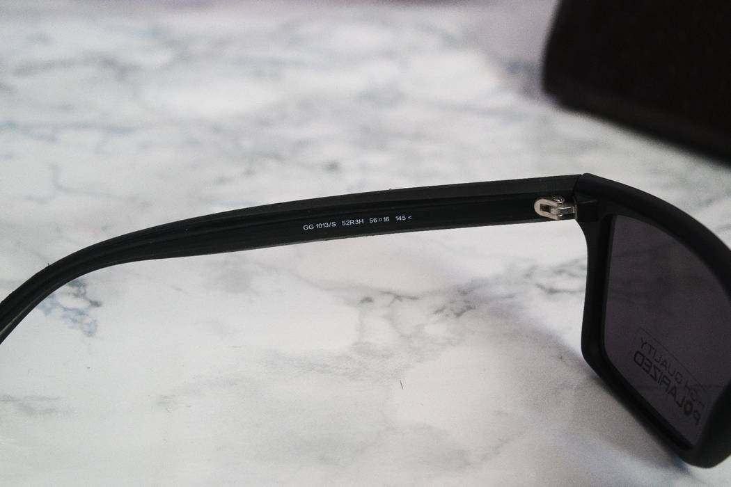 195ecae37d4 Gucci NEW Gucci 1013 Matte Black Polarized Sunglasses Size one size ...