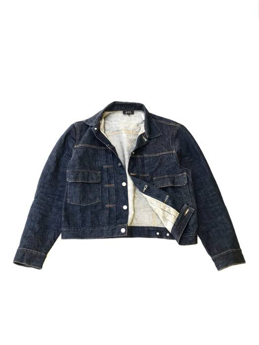 b209f9f68c8d A.P.C. Vintage A.P.C Type 2 Denim Selvedge Jacket Made in Japan not ...