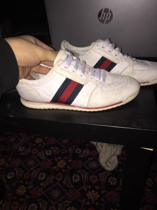 6ecd32bbdc5 Gucci Gucci Shoes Size 8 - Low-Top Sneakers for Sale - Grailed