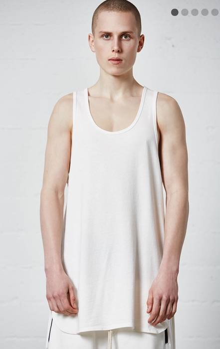 6ddd5555150546 Pacsun White Tank top Size m - Tank Tops   Sleeveless for Sale - Grailed