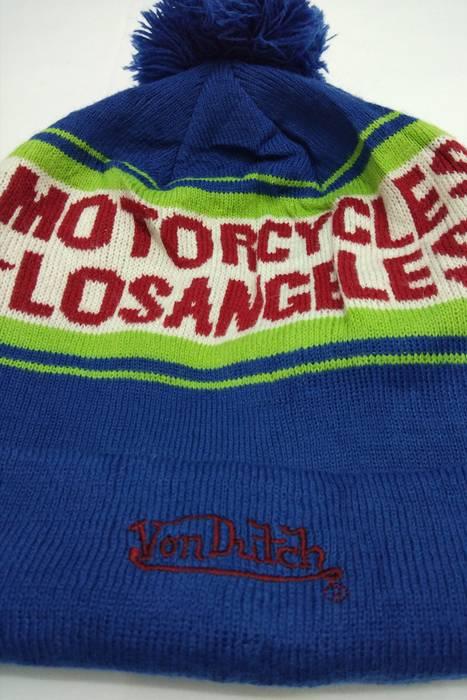 Vintage Vintage 90s VON DUCTH Motorcycles LosAngeles Embroidery Hat Beanie  Nice Design Not Nike Adidas 6b3ac4b60b51