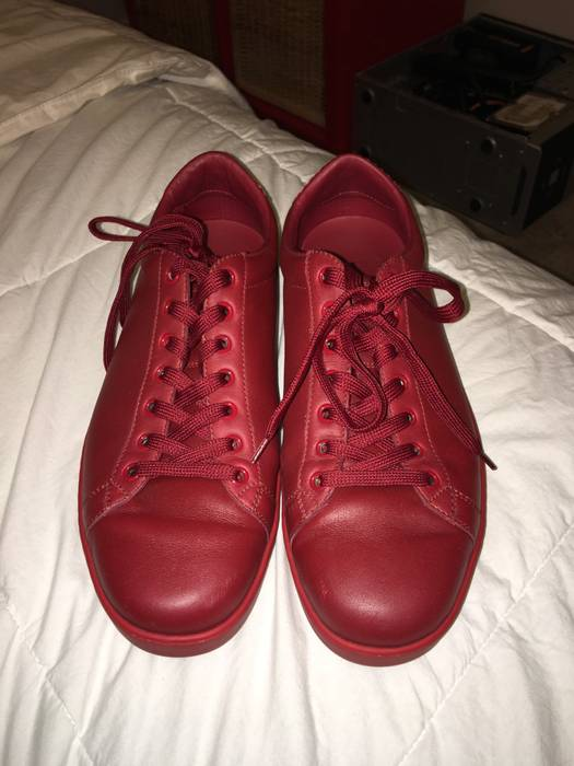 33fd0b6bdfc Gucci Red On Red Gucci Shoes Size 10 - Low-Top Sneakers for Sale ...