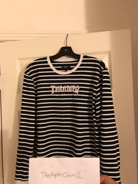 Thrasher Striped Thrasher X Huf Long Sleeve Shirt Size US L   EU 52-54 bcc0bb9765d4