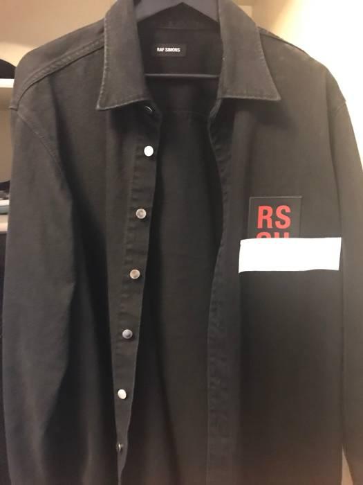 956f50992f0 Raf Simons Raf Simons Patch Denim Shirt Size l - Shirts (Button Ups ...
