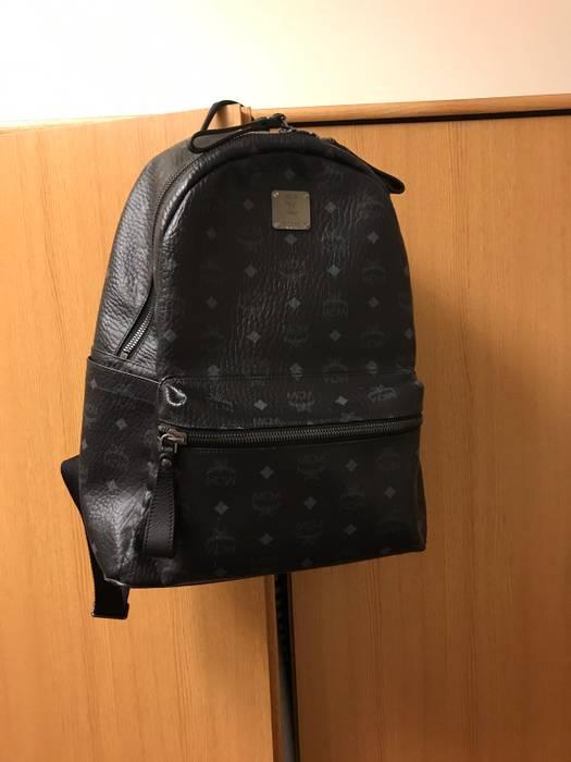 MCM Black Stark Medium Backpack No Stud Size one size - Bags ... c96ba0986afcc