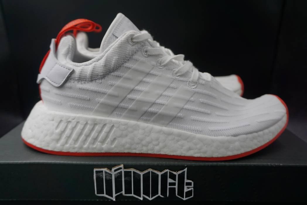 2c1efffb71a70 ... cheapest adidas adidas nmd r2 pk primeknit boost white core red ba7253  size us 5 eu switzerland adidas nmd r1 ...