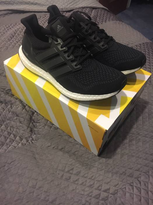 87a3fcac5ec Adidas Adidas Ultra Boost Core Black 1.0 S77417 Size 10 - Low-Top ...