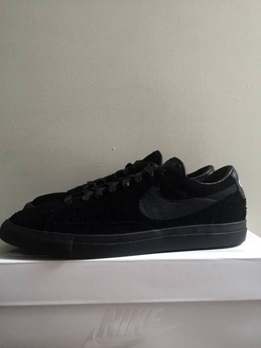 Comme des Garcons CDG Black x Nike Blazer low to Size 9.5 - Low-Top ... 5388629ff