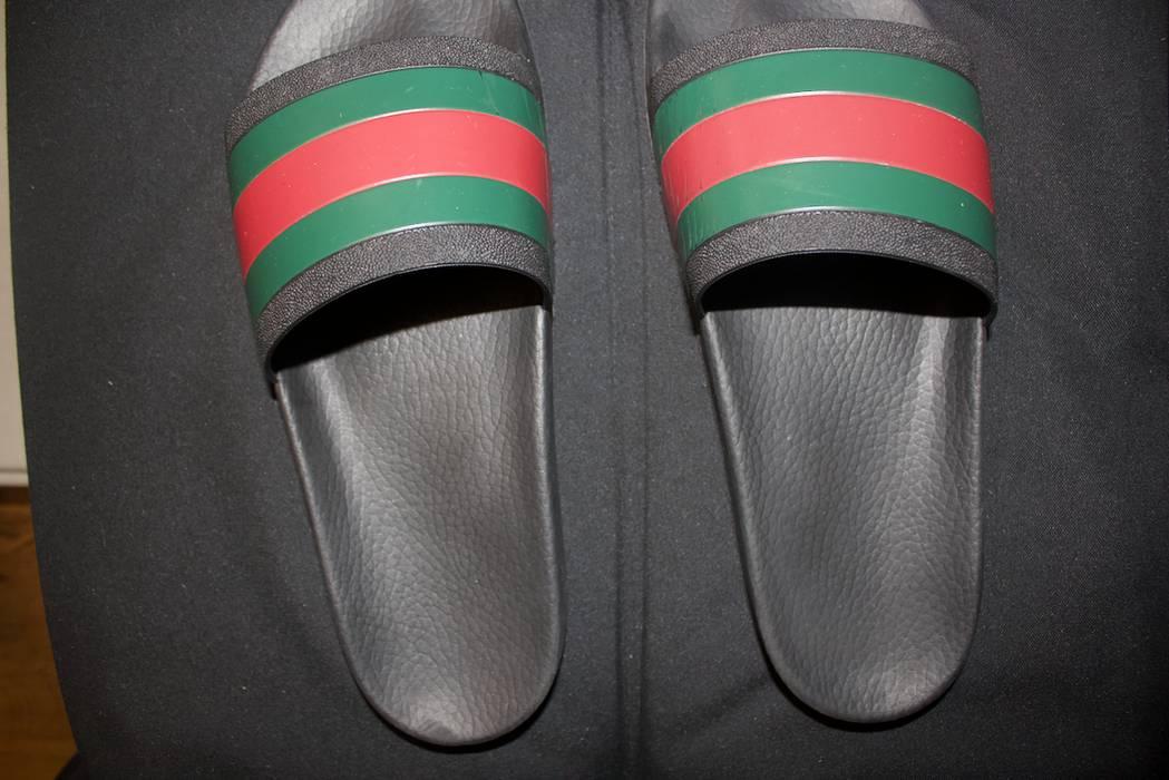 72e5195141be Gucci Gucci slides (flip flops) Size 11 - Slip Ons for Sale - Grailed