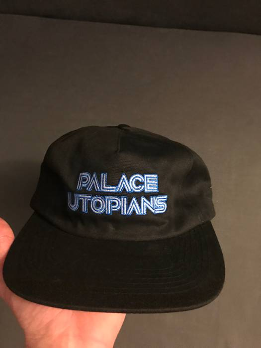 722f9717573 Palace Palace Utopians 5 Panel Black Hat Size one size - Hats for ...