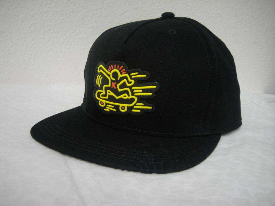 4551db70240 Coach Keith Haring Flat Brim Hat Size one size - Hats for Sale - Grailed