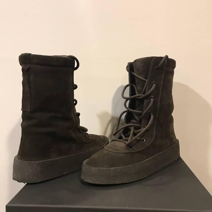 443d9b447f9 Yeezy Season (LAST DROP) Yeezy Season 4 Oil Crepe Boot Size US 12