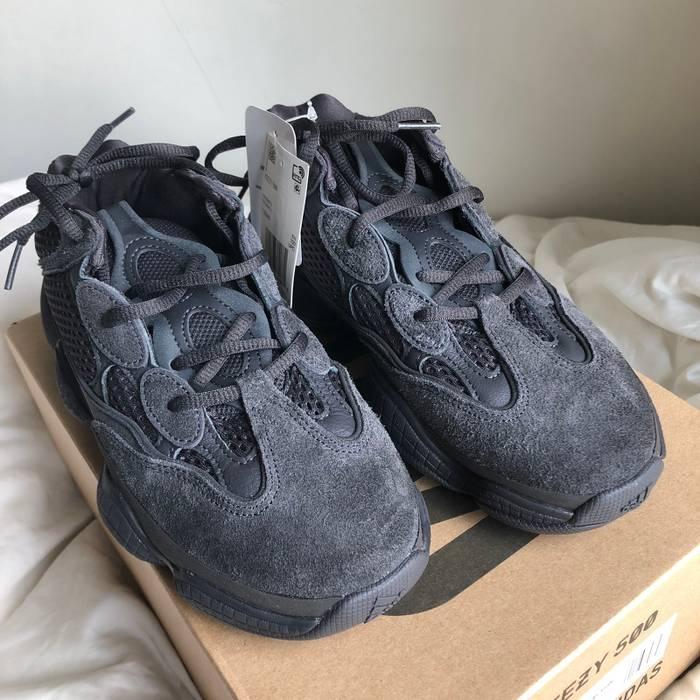 987dcd62b0da Adidas Kanye West Yeezy Boost 500 Utility Black Mens 6 Size US 6   EU 39