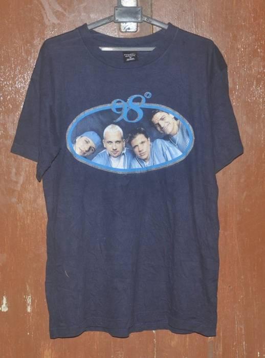 24f298a1d7d Vintage Vintage 90s 98 DEGREES Boy Band Music Concert Tour Album Promo T- Shirt Size
