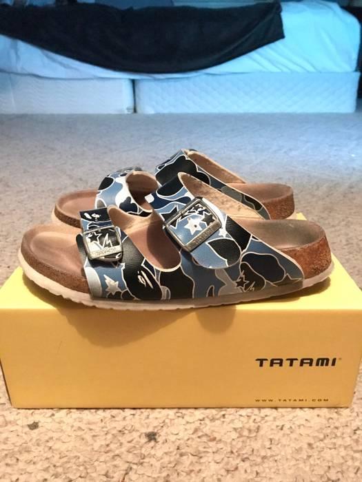 Bape 07-08 Tatami X Bape Sandals Size 7.5 - Sandals for Sale - Grailed 73622834ac