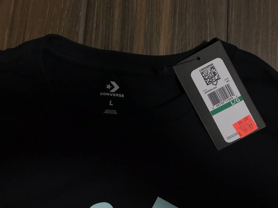 Converse Golf Le Fleur Shirt Black Size L Short Sleeve T Shirts