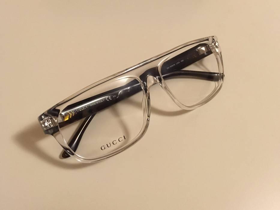 36b209c31991f Gucci Gucci Clear Eyeglass Sunglass Frame Size One Size Glasses