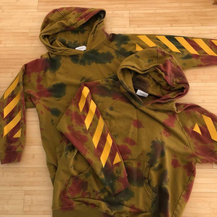 Off White Rhude Off White Camo Hoodie Size L Sweatshirts Hoodies